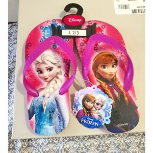 Disney Frozen Flip Flops